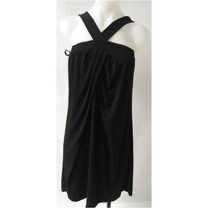 Black Strappy Dress Small